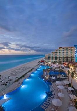 Winter warmer to sunny Cancun!