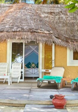 Depart this Oct for 7 nights full board at Kuredu Island in the Maldives