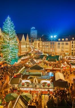 Luxury Frankfurt Christmas Market!