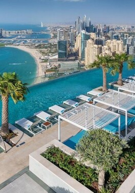 Relax in the World's Highest Infinity Pool - in Dubai!