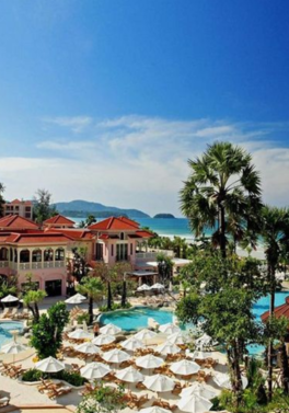 Deluxe Pool Suite at the luxurious Centara Grand Beach Resort in Phuket!