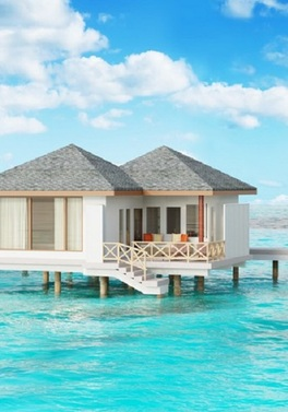 Twin Centre! Dubai City and Maldives Water Bungalow!