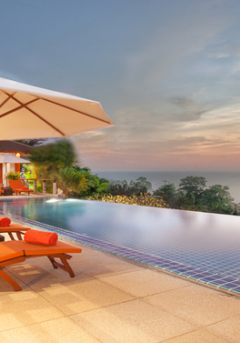 Sea View Private Pool 4 bedroom Villa!