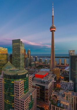 Experience Toronto direct from Glasgow!